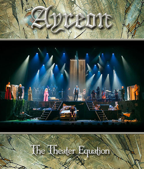 Ayreon The Theater Equation Live 2CD+DVD - Almaraz Records | Tienda de Discos y Películas