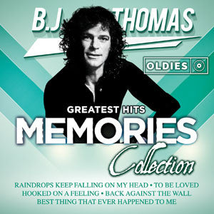 B.J. Thomas Greatest Hits Oldies Memories Collection CD - Almaraz Records | Tienda de Discos y Películas