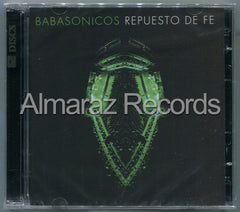 Babasonicos Repuesto De Fe CD+DVD