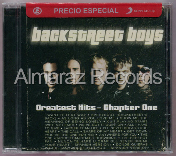 Backstreet Boys The Greatest Hits Chapter One CD