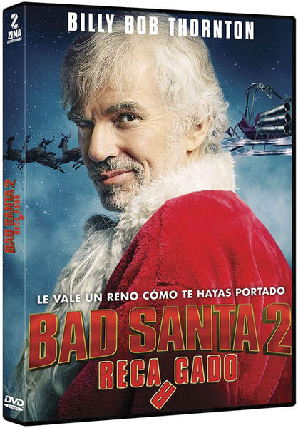 Bad Santa 2 Recargado DVD