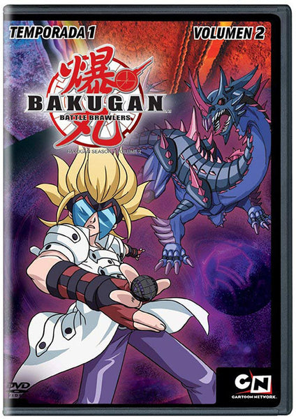 Bakugan Temporada 1 Vol. 2 DVD