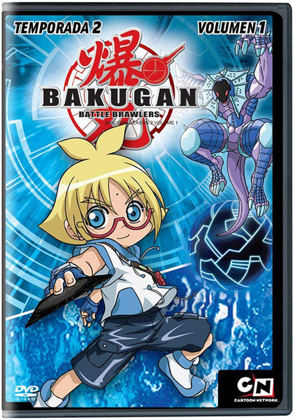 Bakugan Temporada 2 Vol. 1 DVD