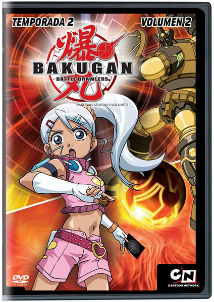 Bakugan Temporada 2 Vol. 2 DVD