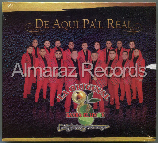 La Original Banda Limon De Aqui Pa'l Real CD