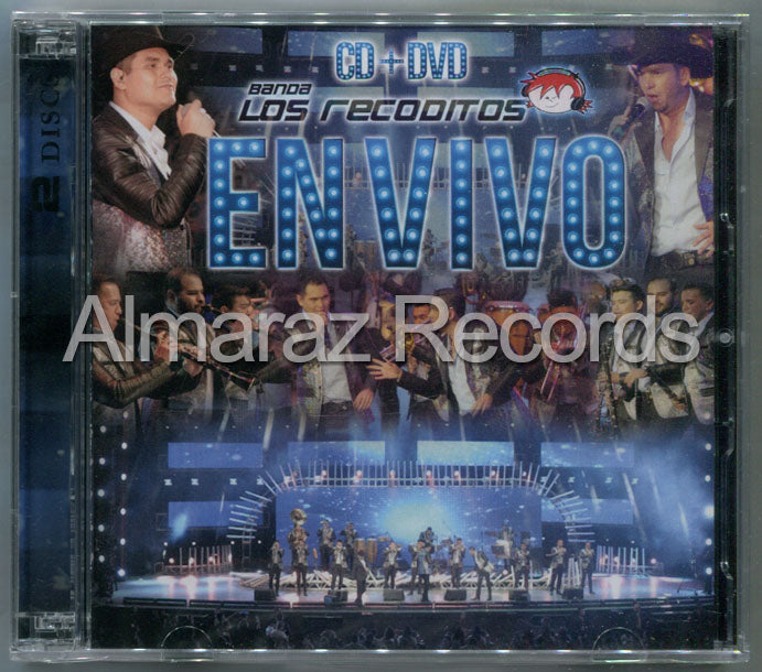Banda Los Recoditos En Vivo CD+DVD