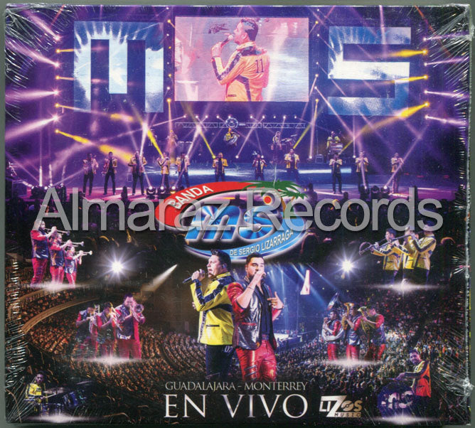 Banda Ms En Vivo CD+DVD