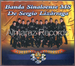 Banda Sinaloense MS Serie Triple 3CD - Exitos