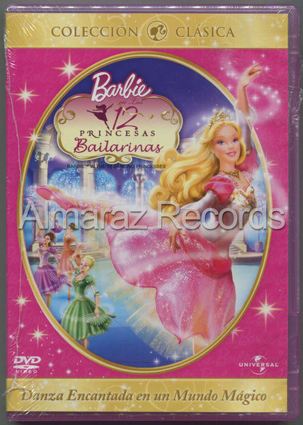 Barbie En Las 12 Princesas Bailarinas DVD - Barbie 12 Dancing Princess