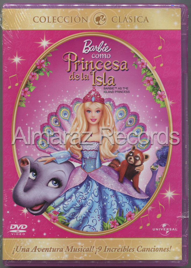 Barbie Como Princesa De La Isla DVD - Barbie As The Island Princess - Almaraz Records | Tienda de Discos y Películas  - 1
