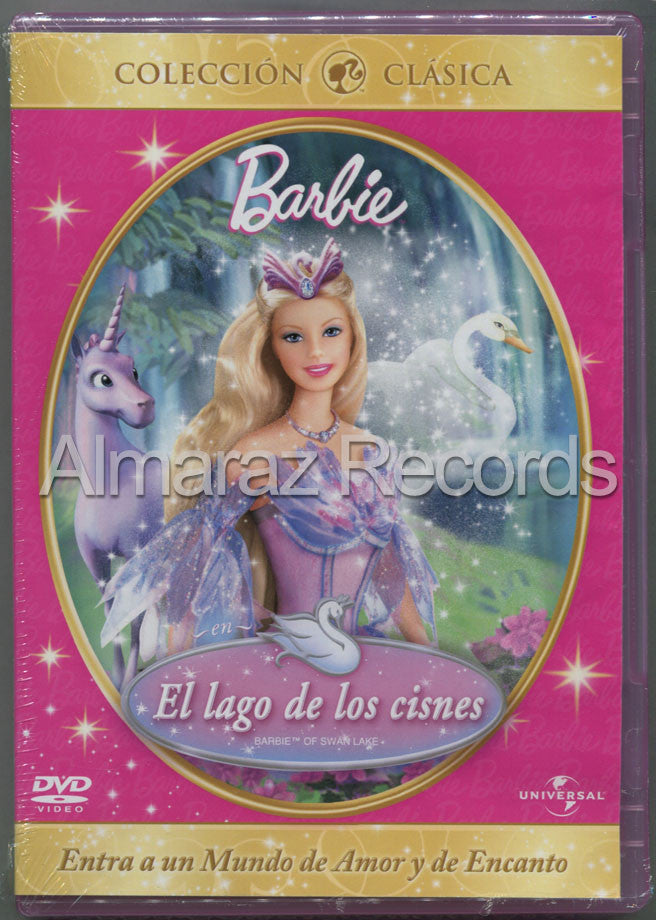 Barbie Lago De Los Cisnes DVD - Barbie Of Swan Lake - Almaraz Records | Tienda de Discos y Películas  - 1
