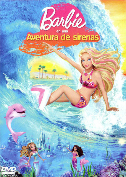 Barbie En Una Aventura De Sirenas DVD - Barbie In A Mermaid Tale - Almaraz Records | Tienda de Discos y Películas