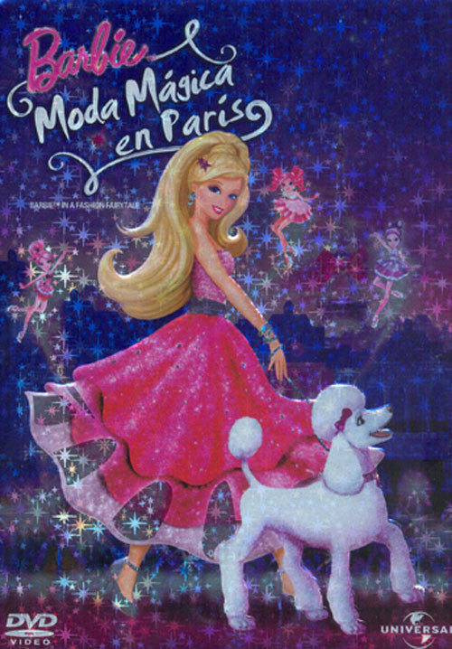 Barbie Moda Magica En Paris DVD - Barbie Fashion Fairytale - Almaraz Records | Tienda de Discos y Películas