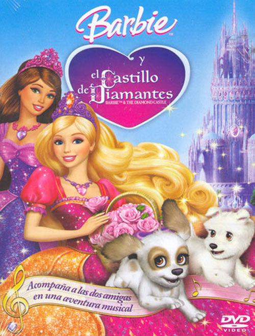 Barbie Y El Castillo De Diamantes DVD - Barbie And The Diamond Castle - Almaraz Records | Tienda de Discos y Películas
