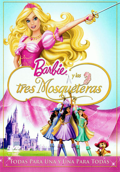 Barbie Y Las Tres Mosqueteras DVD - Barbie And The Three Musketeers - Almaraz Records | Tienda de Discos y Películas