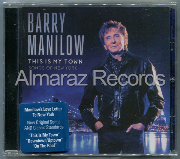 Barry Manilow This Is My Town Songs Of New York CD