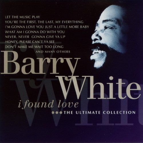 Barry White I Found Love CD - Almaraz Records | Tienda de Discos y Películas