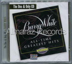 Barry White All-Time Greatest Hits CD - The One & Only CD - Almaraz Records | Tienda de Discos y Películas  - 1