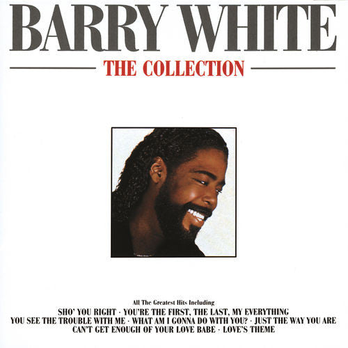 Barry White The Collection CD - Almaraz Records | Tienda de Discos y Películas