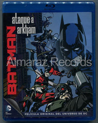 Batman Ataque A Arkham Blu-Ray