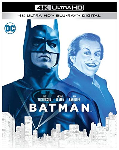 Batman Blu-Ray 4K Ultra HD + Blu-Ray
