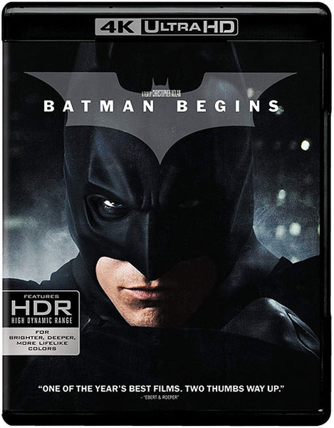 Batman Inicia Blu-Ray 4K Ultra HD + Blu-Ray