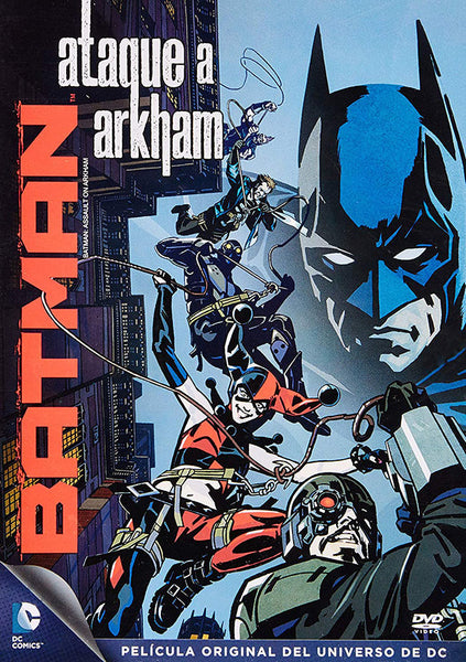 Batman Ataque A Arkham DVD