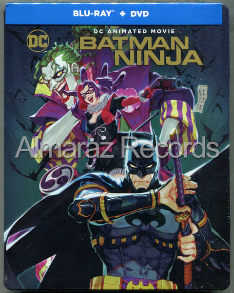 Batman Ninja Steelbook Blu-Ray+DVD