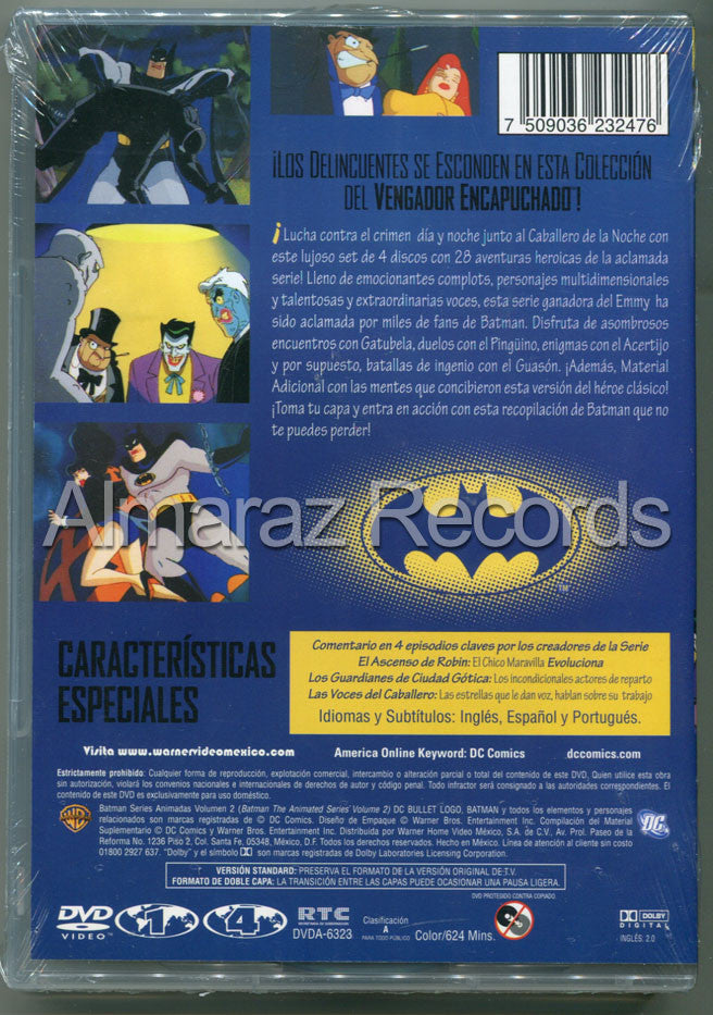 Batman Series Animadas Vol. 2 4DVD - Almaraz Records | Tienda de Discos y Películas  - 2