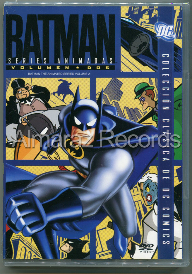 Batman Series Animadas Vol. 2 4DVD - Almaraz Records | Tienda de Discos y Películas  - 1