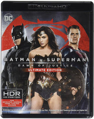 Batman Vs Superman El Origen De La Justicia Blu-Ray 4K Ultra HD + Blu-Ray