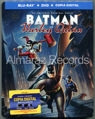 Batman Y Harley Quinn Blu-Ray+DVD Steelbook