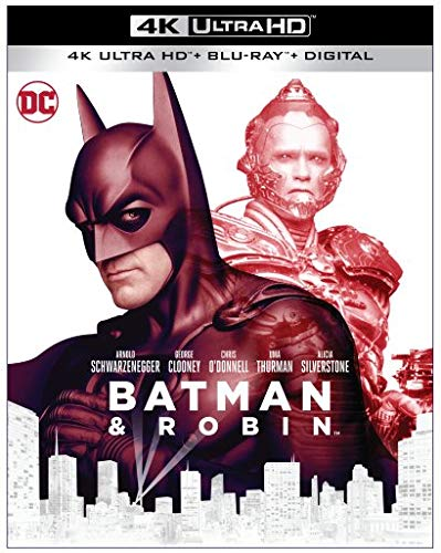 Batman Y Robin Blu-Ray 4K Ultra HD + Blu-Ray