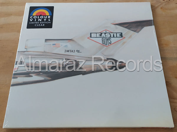 Beastie Boys Licensed To Kill Limited Clear Vinyl LP