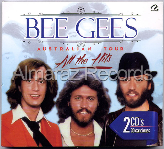 Bee Gees Australian Tour All The Hits 2CD - Almaraz Records | Tienda de Discos y Películas  - 1