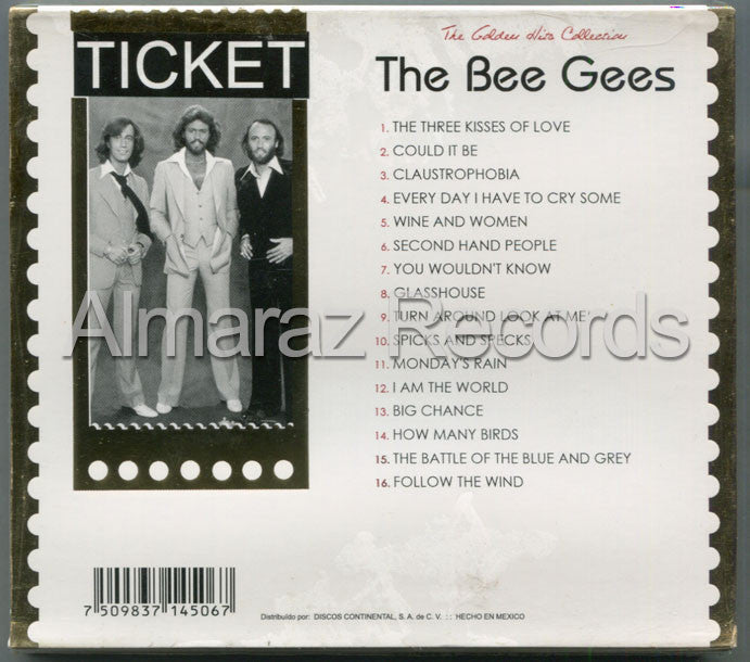 Bee Gees The Golden Hits Collection CD (Usado) - Almaraz Records | Tienda de Discos y Películas  - 2