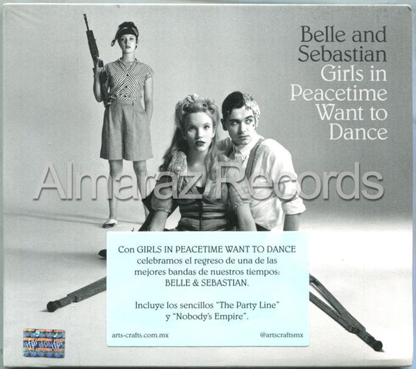 Belle And Sebastian Girls In Peacetime Want To Dance CD - Almaraz Records | Tienda de Discos y Películas  - 1