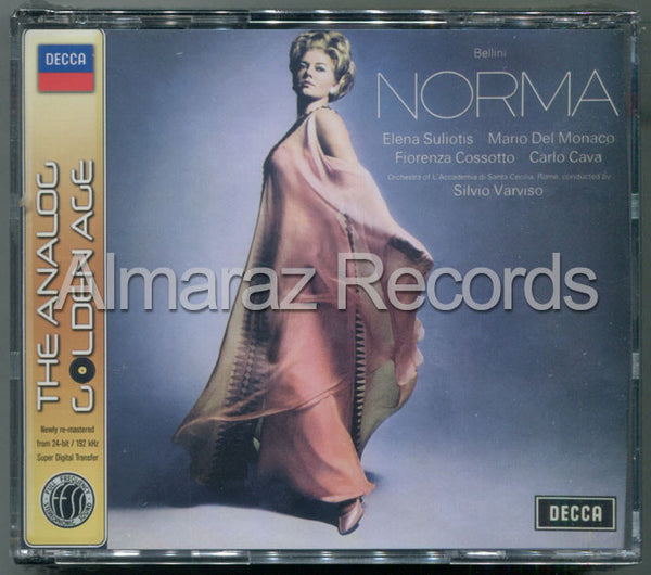 Bellini Norma The Analog Golden Age 2CD