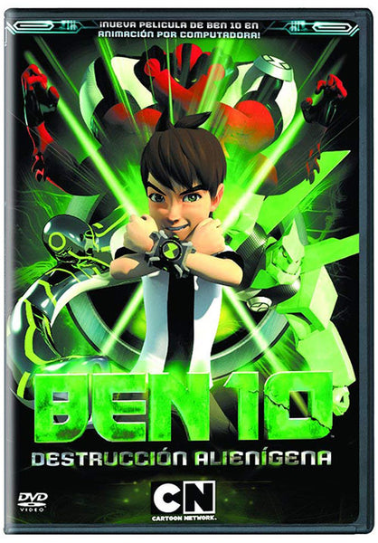 Ben 10 Destruccion Alienigena DVD