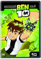 Ben 10 Temporada 1 Vol. 3 DVD