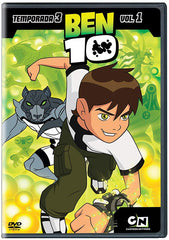 Ben 10 Temporada 3 Vol. 1 DVD