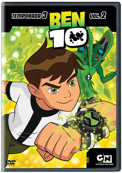 Ben 10 Temporada 3 Vol. 2 DVD