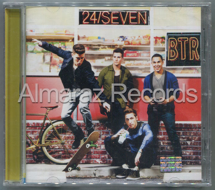 Big Time Rush 24/Seven Deluxe CD