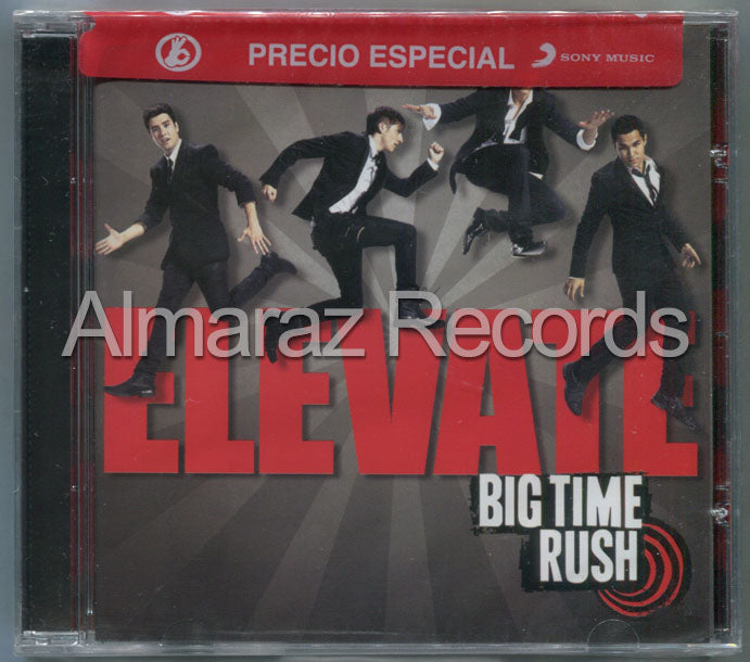 Big Time Rush Elevate CD