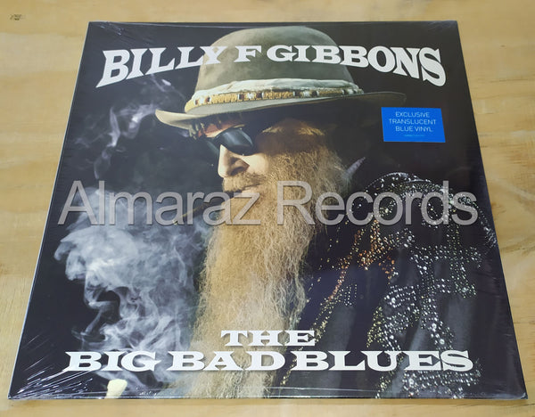 Billy F Gibbons The Big Bad Blues Vinyl LP