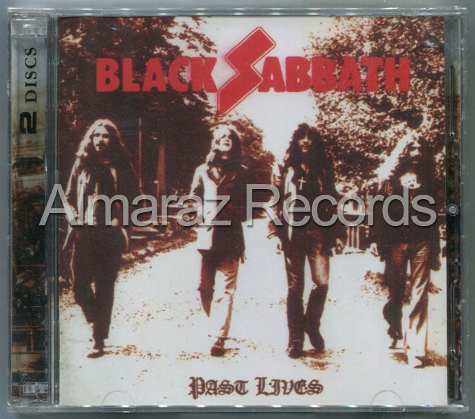 Black Sabbath Past Lives 2CD