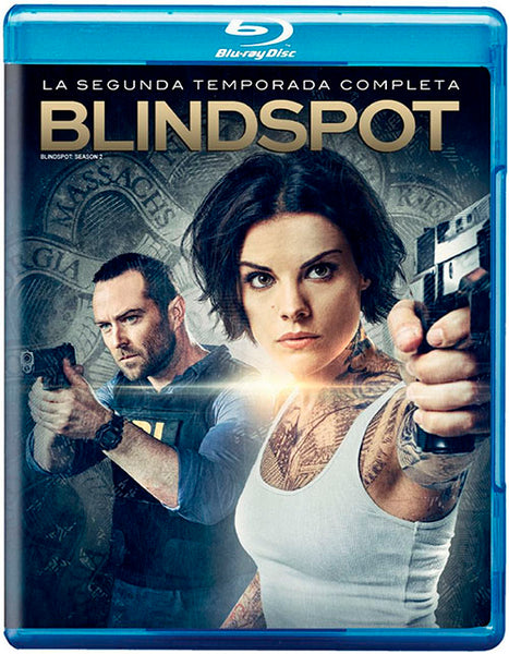 Blindspot Temporada 2 Blu-ray