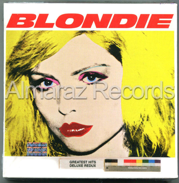 Blondie 4(0) Ever Greatest Hits Ghosts Of Download Deluxe 2CD+DVD - Almaraz Records | Tienda de Discos y Películas  - 1