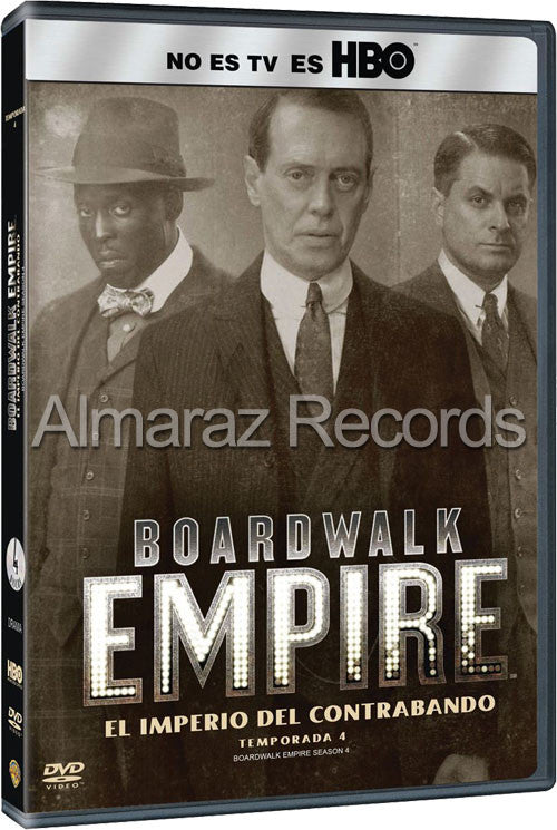 Boardwalk Empire Temporada 4 4DVD - Almaraz Records | Tienda de Discos y Películas
