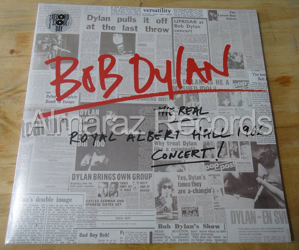Bob Dylan The Real Royal Albert Hall 1966 Concert LP